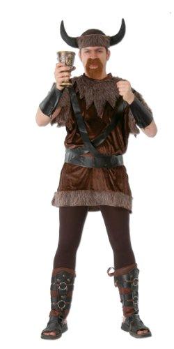 Wikinger - Kostüm für Herren Gr. M-XL, Größe:L