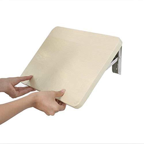 hairong Legno Muro Montato a ribalta Tavolo Pieghevole, Tavoli Caduta delle Foglie for i Piccoli spazi muretto scrivania Home Kitchen (Size : 60X36CM)