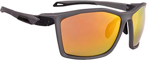 ALPINA TWIST FIVE CM+ Sportbrille, Unisex– Erwachsene, tin matt, one size