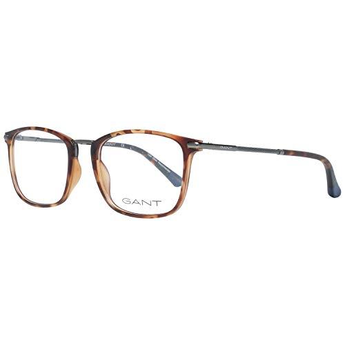 GANT GA3147 52052 Brillengestelle GA3147 052 Rechteckig Brillengestelle 52, Braun