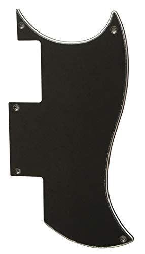 Custom For Epiphone SG Special Style Electric Guitar Pickguar (3 Ply Black)
