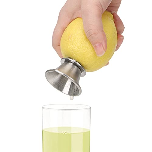 SMEJS Hand Juicer Juice Squeeze For Lemon Pourer Screw Manually Orange Limes Citrus Fruit Tool Stainless Steel