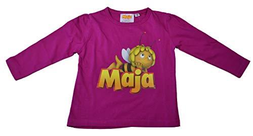 Biene Maja T-Shirt Langarm Pink Fuchsia Gr. 104 Hannibal Fritz Freunde Hieronymus, Biene Maja Pink, 104