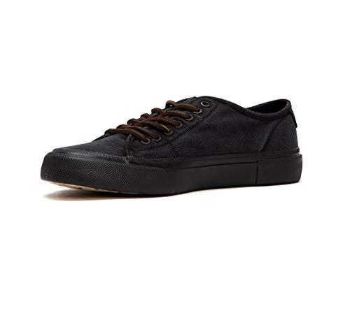 FRYE Men's Ludlow Low Tennis Shoe, Black, 11 M