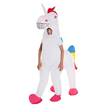 Kids Unicorn Giant Inflatable Costume Blow Up Fancy Dress Costumes Boys & Girls