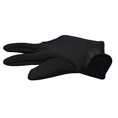 Eruditter - Guantes de aislamiento de peluquería, antiquemaduras, 3 dedos, resistentes al calor, guantes resistentes a altas temperaturas
