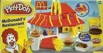 Play-Doh McDonald's Restaurant Playshop Playset