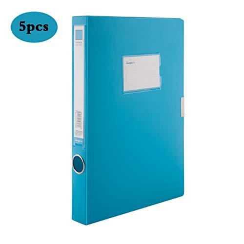 Archiefdoos Kantoor benodigdheden Plastic Doos, A4 File Box Organizer Plastic Met Deksel, Opslagmap Opbergdoos