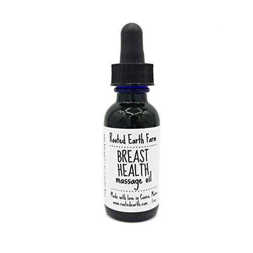 Breast Health Massage Oil 1 oz Lymphatic System