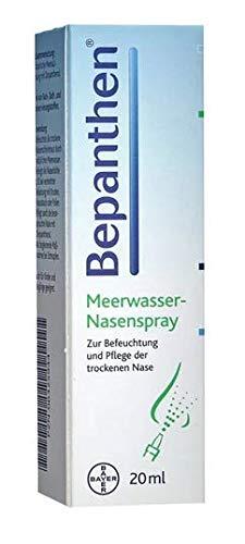 Meerwasser Nasenspray Bepanthen - Zur Befeuchtung und Pflege der trockenen Nase - 20ml