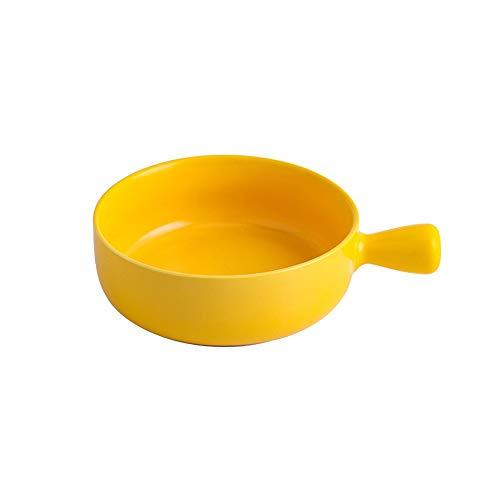 ZZYJYALG cuenco Tazón de cerámica con asas, Ramen porcelana Cuenco, cereal cuencos, cuencos de yogur, Pasta Bowl, plato de sopa, tazón de porcelana, cuencos de cocina, microondas y lavar en el lavavaj