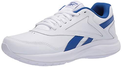 Reebok Men's Walk Ultra 7 DMX Max Shoe, White/Humble Blue/Collegiate Royal, 11 M US
