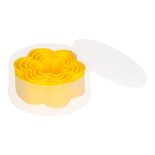 Patisse 2048439 Emporte-Pièce Set de Fleur avec 5 Cavités Plastique