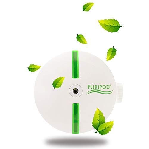 BEST DIRECT Puripod ® Purifier Geruchsneutralisierer Raumluftreiniger und Ionisator Saubere Elektrisch Leise für zu Hause Heimklima-Reiniger mit Filter Gegen Allergien, Staub, Pollen und Rauchen