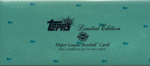 2000 Topps Baseball Limited Tiffany Factory Sealed Set