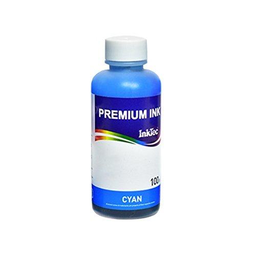 Tinta InkTec H1061 100 ml Cian Compatible con Cartuchos HP 301 301XL, 302 302XL, 303 303XL, 304 304XL, 62 62XL, 300 300XL, 901 901XL, 350 351, 21 22, 27 28, 56 57