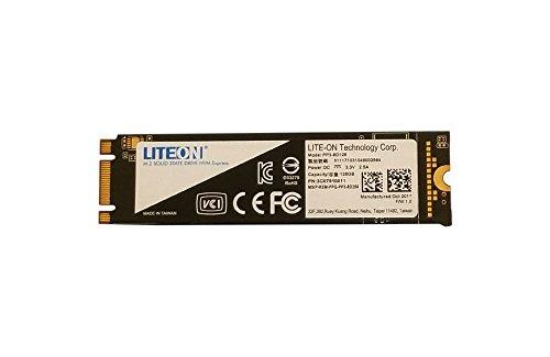 Lite-On MU X 128 GB PCI Express 3.0 M.2 - Interne Solid State Drives (SSD) (128 GB, M.2)