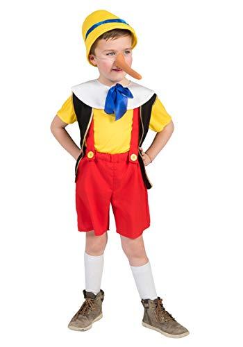 Funny Fashion Kids Pinocchio Costume Size 6