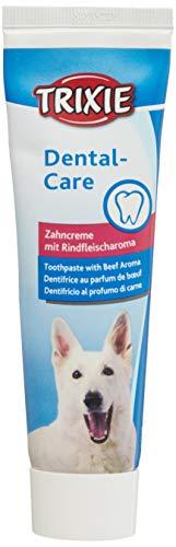TRIXIE Pasta Dentrífica Perros sabor Ternera, 100 g, Perro