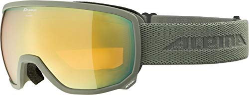 ALPINA SCARABEO Q-Lite Gafas de esquí, Unisex-Adult, moongrey, One Size