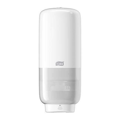 Tork tvåldispenser med sensor för skumtvål och antibakteriell handtvål, Elevation - 561600 - S4 Kontaktfritt dispensersystem, vit