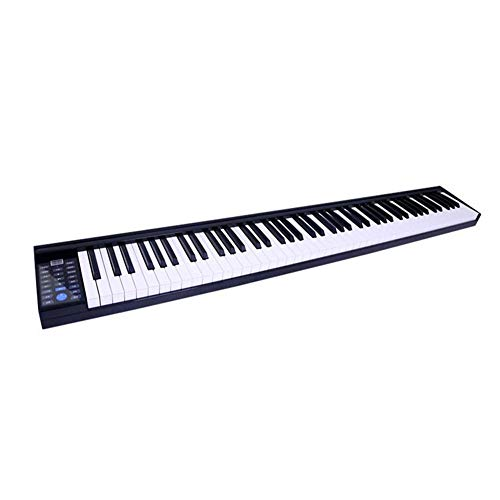 Best Prices! LVSSY-Intelligent 88-Key Piano Keyboard Portable Multifunction Electronic Piano Adult B...