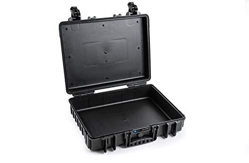 B&W Transportkoffer Outdoor Typ 6040 schwarz - wasserdicht nach IP67 Zertifizierung, staubdicht, bruchsicher und unverwüstlich
