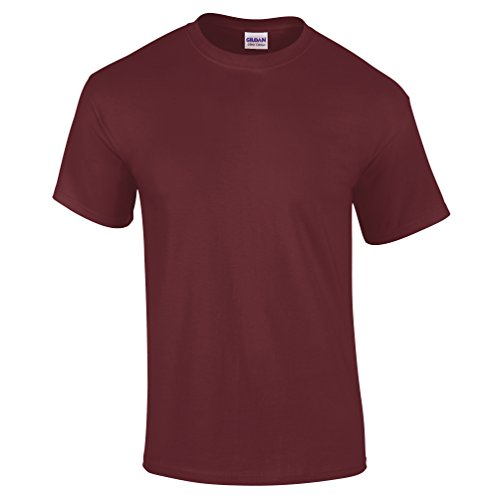 Gildan - Camiseta básica de manga corta Modelo Ultra...