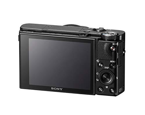 Sony RX100 VI | Premium-Kompaktkamera (1,0-Typ-Sensor, 24-200 mm F2.8-4.5-Zeiss-Objektiv, 4K-Filmaufnahmen und neigbares Display) & LCS-CSJ Universaltasche für Cyber-Shot W-, T- und N-Serie