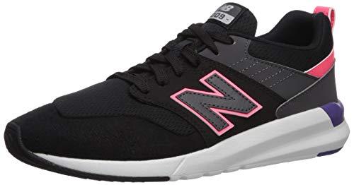 new balance Women's 09v1 Training Shoe Sneaker, Black/Guava, 10.5 W US