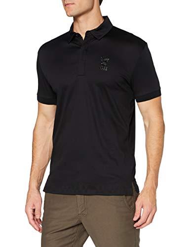 BOSS Herren Paulox Polohemd, Black1, XL