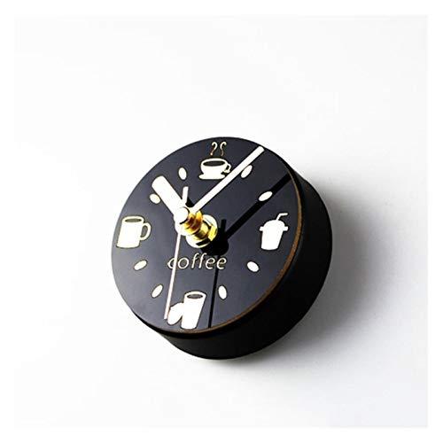 JSJJAWS Imanes Nevera Café Mute Imanes De Frigorífico Reloj De Nevera De Nevera De Nevera De Nevera De Nota Sticky Note Decoración del Hogar Herramientas De Café para Barista Regalo (Color : A)