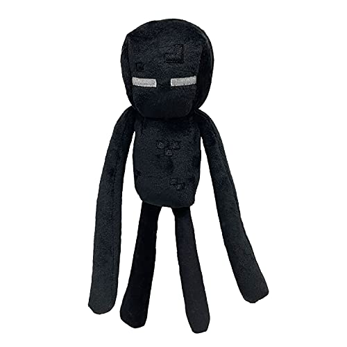 Enderman Plush Stuffed Toy, Black, 11' Tall
