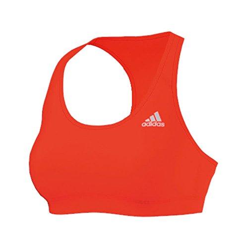 adidas Damen Sport-BH Techfit, Solar Red, XL