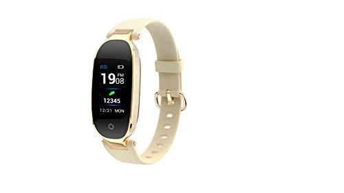 CMYY Smart horloge kleur scherm mode bluetooth waterdichte hartslag stap baby armband, size, Goud