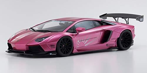 Lamborghini Aventador Coupe LB Performance Pink 1/18 Model Car by Kyosho KSR 18502 CP