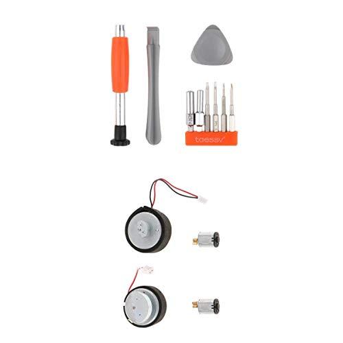 Conjunto de Chave de Fenda de Ferramenta de Reparo + 1 Conjunto de Vibrador E Motores Rumble