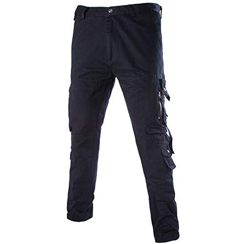 Celucke Herren Cargohose Rangerhose Arbeitshose Slim Fit,Männer Skinny Bequem Sweatpants Mode Freizeithosen