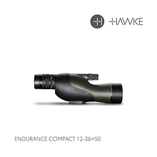 Hawke Endurance - Telescopio (12-36 x 50, tamaño Mediano), Color Verde
