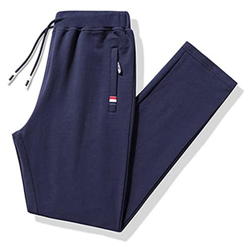 DDDD store Pantalones Deportivos Hombres Algodón Pantalón de Chándal Elásticos Transpirables con Bolsillos Laterales para Deporte Gimnasio Fitness Correr
