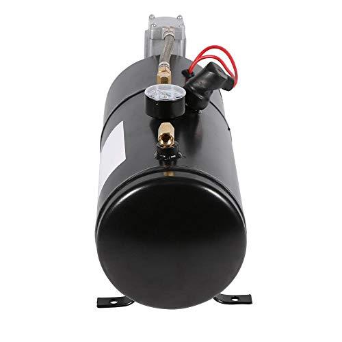 Emoshayoga Compresor De Aire, Bomba De Presión para Inflar Neumáticos, Bomba De Presión, Inflado Rápido, Duradero Y Confiable con 1 Compresor para Bicicletas para Otros Inflables para Neumáticos De