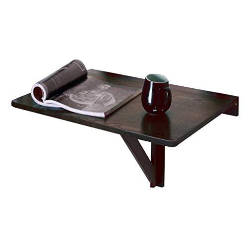 Klaptafel tuintafel eettafel wand schrijftafel wand massief hout eenvoudig schrijftafel sterk en robuust eenvoudig te bedienen (kleur: B) B