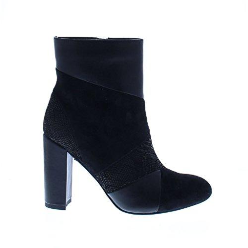 Blink Black Synthetic Ankleboot High Heel