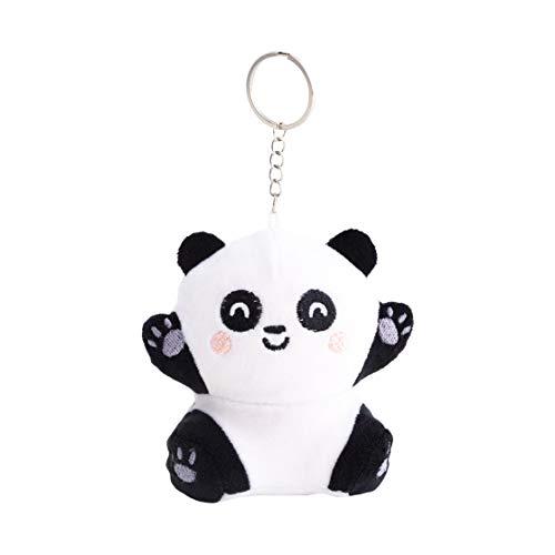 Mr Wonderful WOA09652SM Squishy Plush Keyring - Panda, Multicolore, Taille Unique