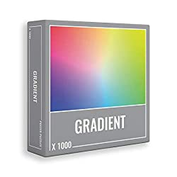 top rated 1000 Piece Gradient Puzzle: A cool premium puzzle game for adults and adults! 2021