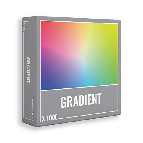 Cloudberries- Poster Puzzle Gradient 1000 Puzle, Multicolor (3003)