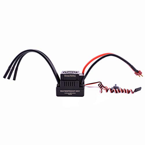 Readytosky RC 120A Brushless ESC 2-4S Electronic Speed Controller for 1/8 RC Car Truck