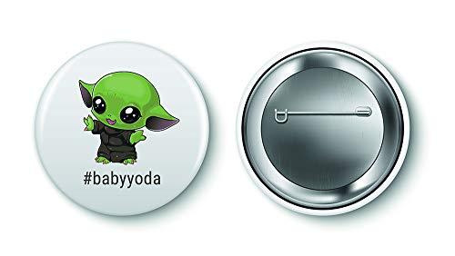 NA Baby Yoda Button