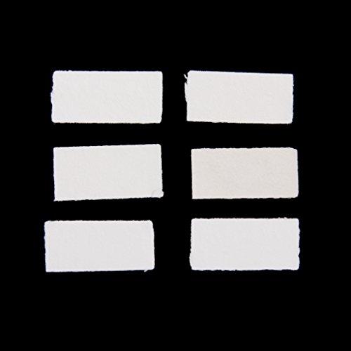 Dolity 12x Paquete de Inserto Antivaho para GOPRO Hero 3.4 + / 3/2/1 / Sj4000 / Sj5000 Accesorios