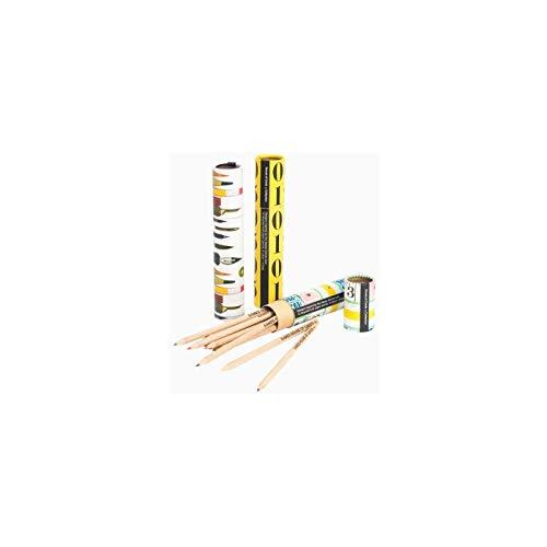Whitbread Wilkinson Tube de Crayons Eco Plumier Mesures Eames